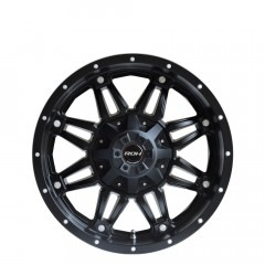Assassin - Matt Black  wheels