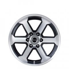 Trojan Max - Black Machine Lip wheels