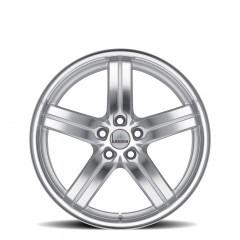 Morro - Silver W/Mirror Cut Face & Lip wheels