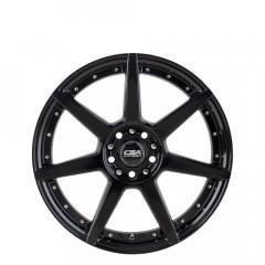 Hornet - Gloss Black Deep Lip wheels