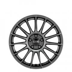 Superturismo Dakar HLT - Matt Graphite + Silver Lettering       wheels
