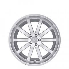 Wilhelm - Silver W/Mirror Cut Face & Lip wheels