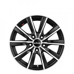 Motion - Matte Black Machined wheels
