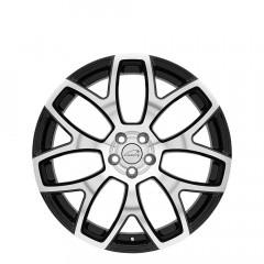 Ashford - Gloss Black W/Mirror Cut Face wheels