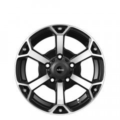 Digga - Matte Black Machined Face wheels