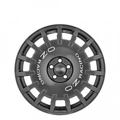 Rally Racing - Dark Graphite Silver Lettering wheels