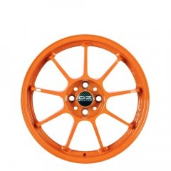Alleggerita HLT - Orange wheels