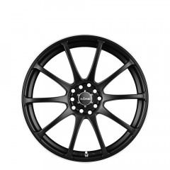 Halo - Satin Black wheels