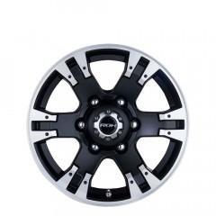 Terrain - Matt Black Machine Face wheels