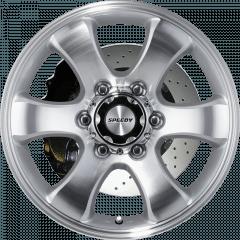 Grande - Machined/Silver wheels