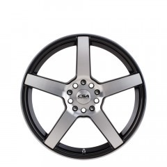 Essen - Gunmetal Black M-Face wheels