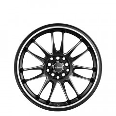 Drifta - Matt Black Piped with Pin wheels