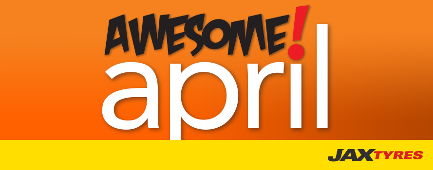 Awesome April Sale!