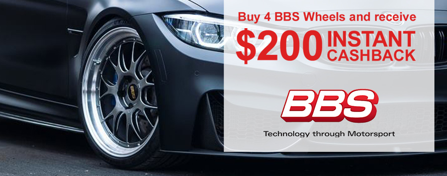BBS Wheels $200 Cashback Offer