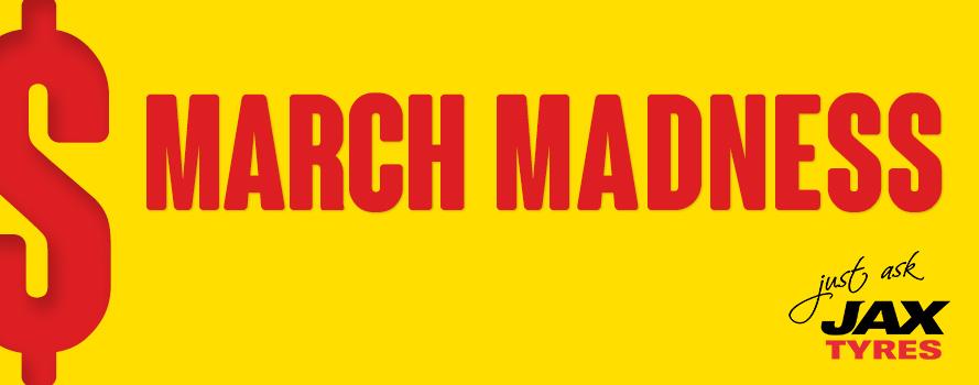 JAX March Madness Sale