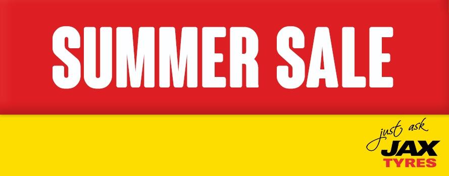 JAX Summer Sale