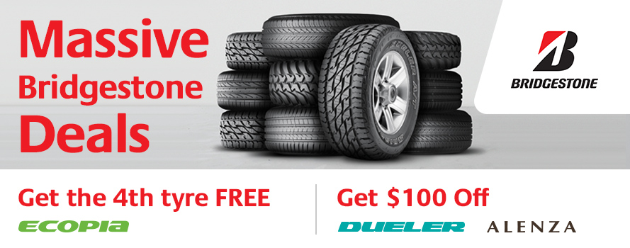 Massive Bridgestone Deals on selected sets