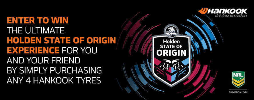Hankook Holden State of Origin 'Money Can't Buy' Experience