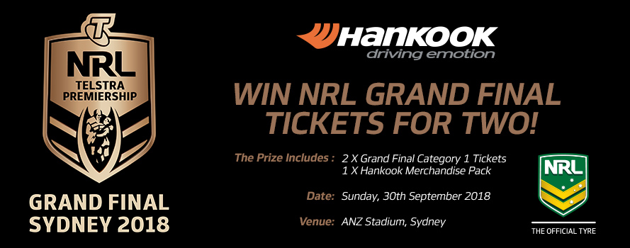 Hankook Holden Grand Final 'Money Can't Buy' Experience