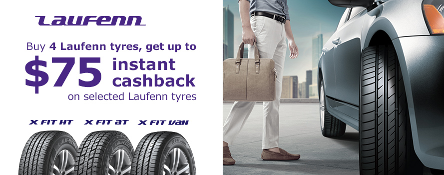 Laufenn up to $75 Instant Cashback