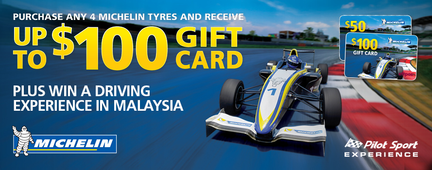 Michelin $100 Gift Card