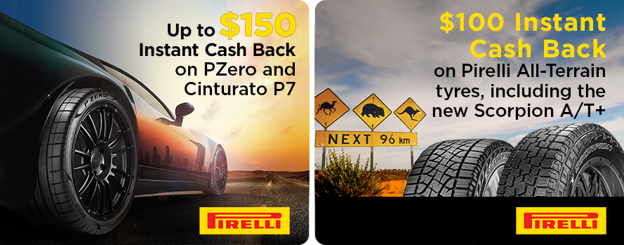 PIRELLI Instant Cash Back Offers