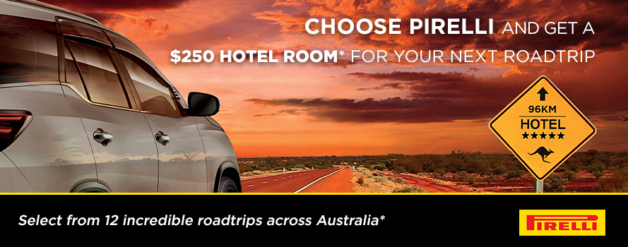 Pirelli FREE Hotel Room for your next road trip