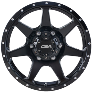 CSA Hawk - Gloss Black from JAX Tyres