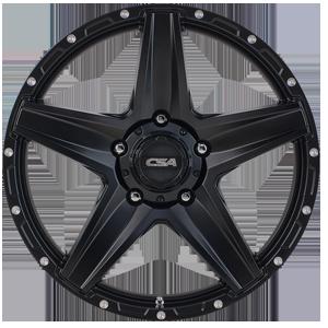 CSA Stealth - Satin Black from JAX Tyres