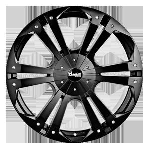 Advanti Thunder Matt Black from JAX Tyres