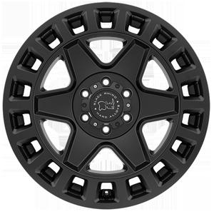 Black Rhino York Matte Black from JAX Tyres