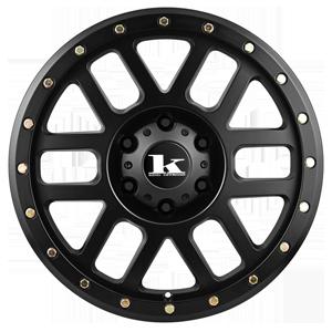 King Tremor Satin Black from JAX Tyres