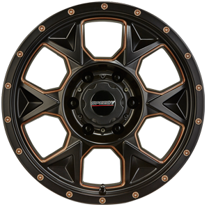 Speedy Bootleg Satin Black/Bronze Accents from JAX Tyres